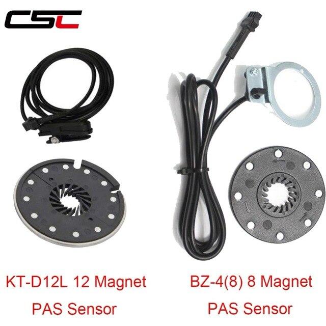 Electric Bicycle Pedal BZ-4 (8) 8 Magnet or KT-V12L 12 Magnets E-bike PAS System Assistant Sensor Speed Sensor Easy To Install