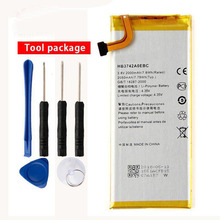 цена на Original HB3742A0EBC Rechargeable Li-ion phone battery For Huawei  TL00 G620 C8817D H30 C00 Ascend G630 P6 G6 G621