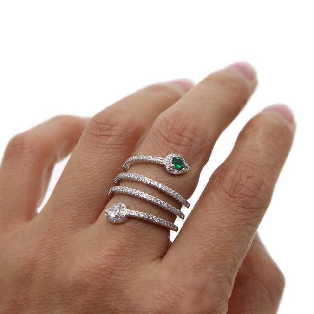Лидер продаж 2019 Модные Классические Вечерние ничные кольца