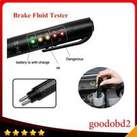 Mini Universal Remvloeistof Tester Pen Met 5 LEDs Display auto Remvloeistof Digitale Testen Voertuig Auto Automotive Tool voor DOT3