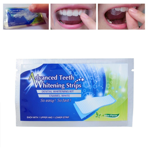 30/20/10Pcs Professional Dental Teeth Whitening Strip Oral Hygiene Care Double Elastic Tooth Whitening Strips Bleaching Tools