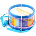 Envío gratis Tru classica tambor de juguete del niño percusses de piel de oveja para niño 3 ~ 6 años juguetes educativos marca del regalo de navidad instrumento