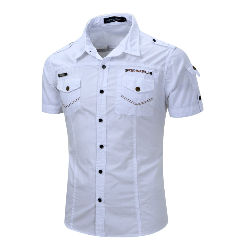 online get cheap 100 cotton work shirts for men