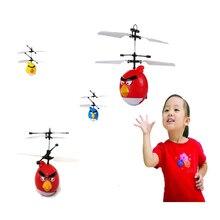 Venta caliente RC helicóptero Aves juguetes niño juguetes RC Helicoptero Infrarrojos Inducción Platillo Volador juguetes Aviones de Control Remoto juguetes de los niños