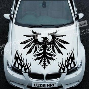 Cool! Totem Eagle D 023 Auto Car Decal Sticker PVC(black,white,red,Gray colour)