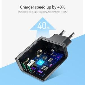 Image 2 - FLOVEME Dual USB Caricatore 5V 2.4A Veloce di Ricarica Adattatore del Caricatore Della Parete della Spina di UE Del Telefono Mobile Per il iphone ipad mini samsung Xiaomi