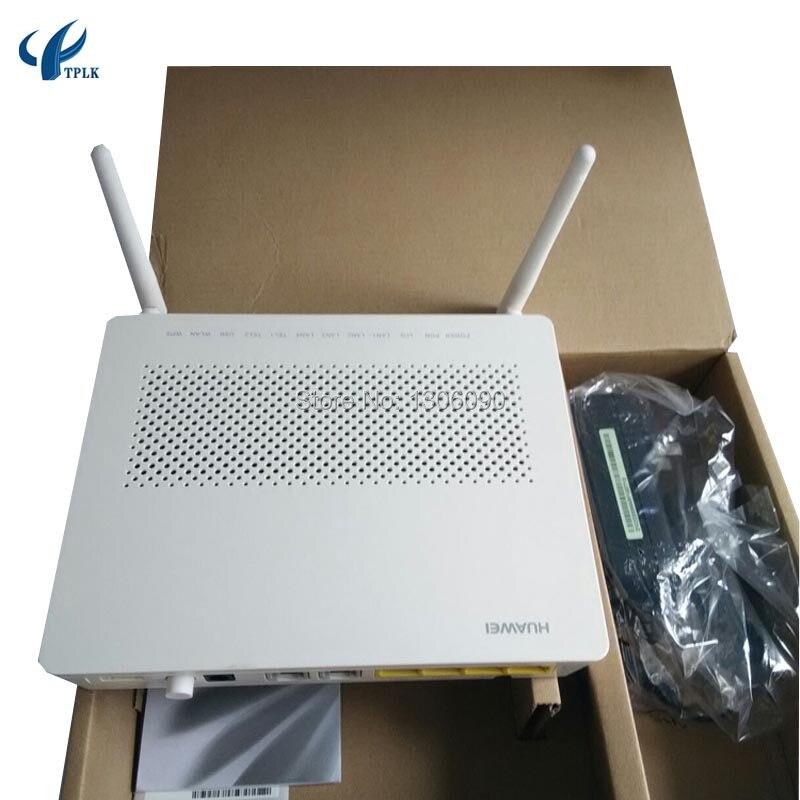 imágenes para Huawei echolife gpon/epon ont gpon terminal terminales inalámbricos hg8245h, 4 ge lan y 2 puertos de voz, con BBU y puerto USB