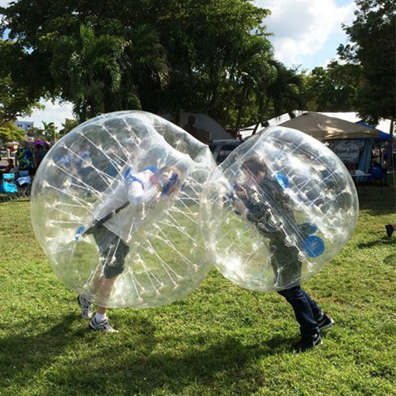 Free Shipping Dia 1.5m PVC Bubble Soccer Ball For Adults Bubble Football Bumper Inflatable Human Hamster Ball Zorb Ball Suit