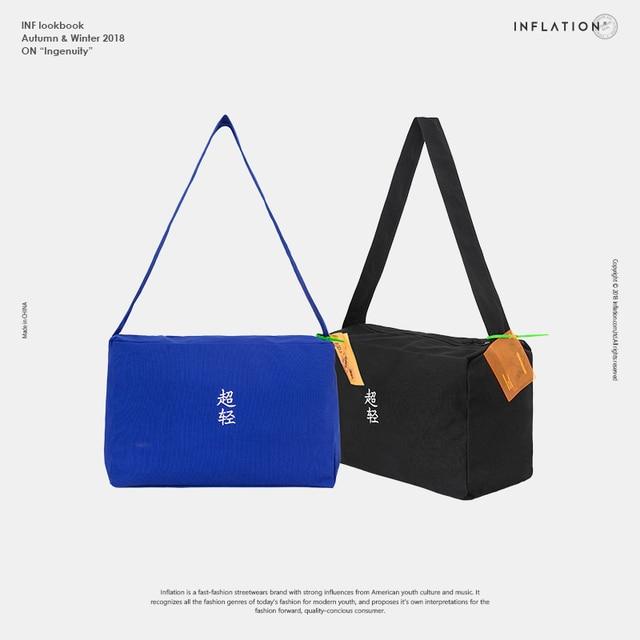 129f67045 INFLATION 2018 Men's Travel Bag Chinese Zhongwen Shoulder Bag Nylon Mens  Casual Vintage Street Fashion Bag 201AI2018