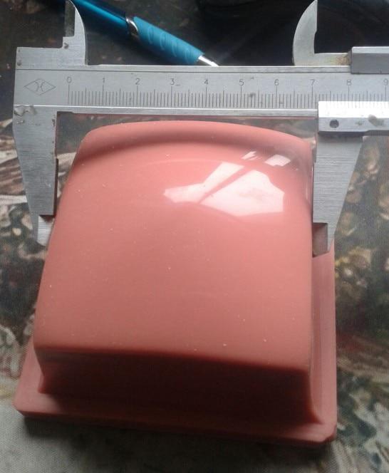 Wholesale Pad Printing Rubber Head B319 Pad Printing Silicone Roundness Head Pad Printing Rubber Head Printing Area 60*60MM