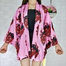 Japanese kimono yukata kimono cardigan fashion blouse women 2019 long sleeve cardigan haori traditional kimonos FF001