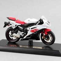 Brand 1 18 Scale Children YAMAHA YZF R6 Motorcycle Super Sport Race Metal Diecast Bike Car