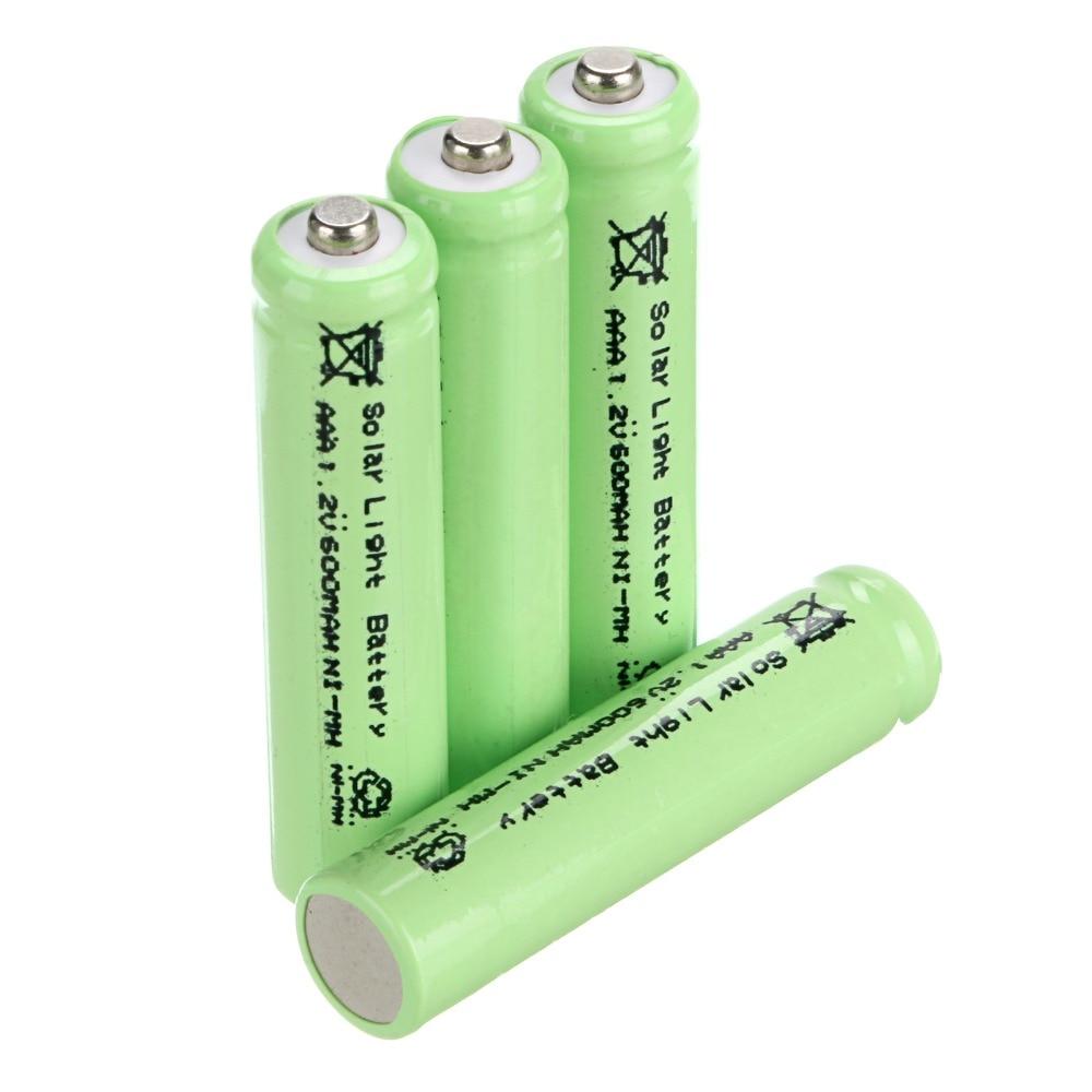Environmental Solar Battery 4 Pcs Aaa Solar Light