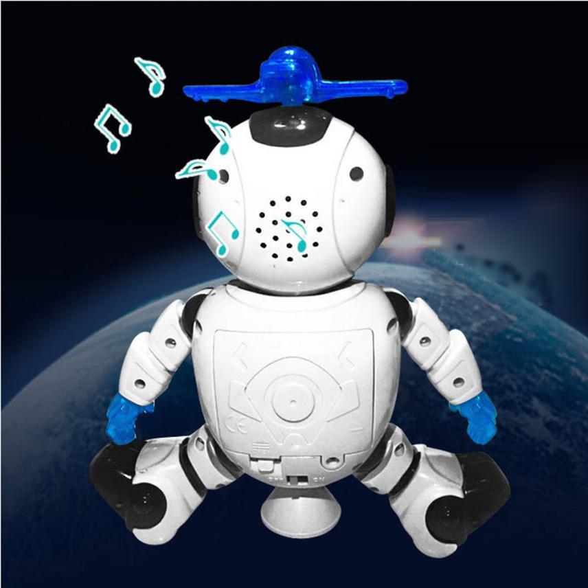 Electronic Walking Dancing Smart Space Robot Astronaut Kids Music Light Toys Z904