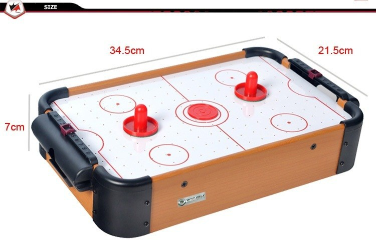 Free shipping winmax toy mini air hockey game table with