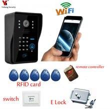 Yobang Security Freeship Wifi Outdoor Doorbell Camera Wireless Video Intercom Video Door Phone WIFI Visual Wireless Doorbell