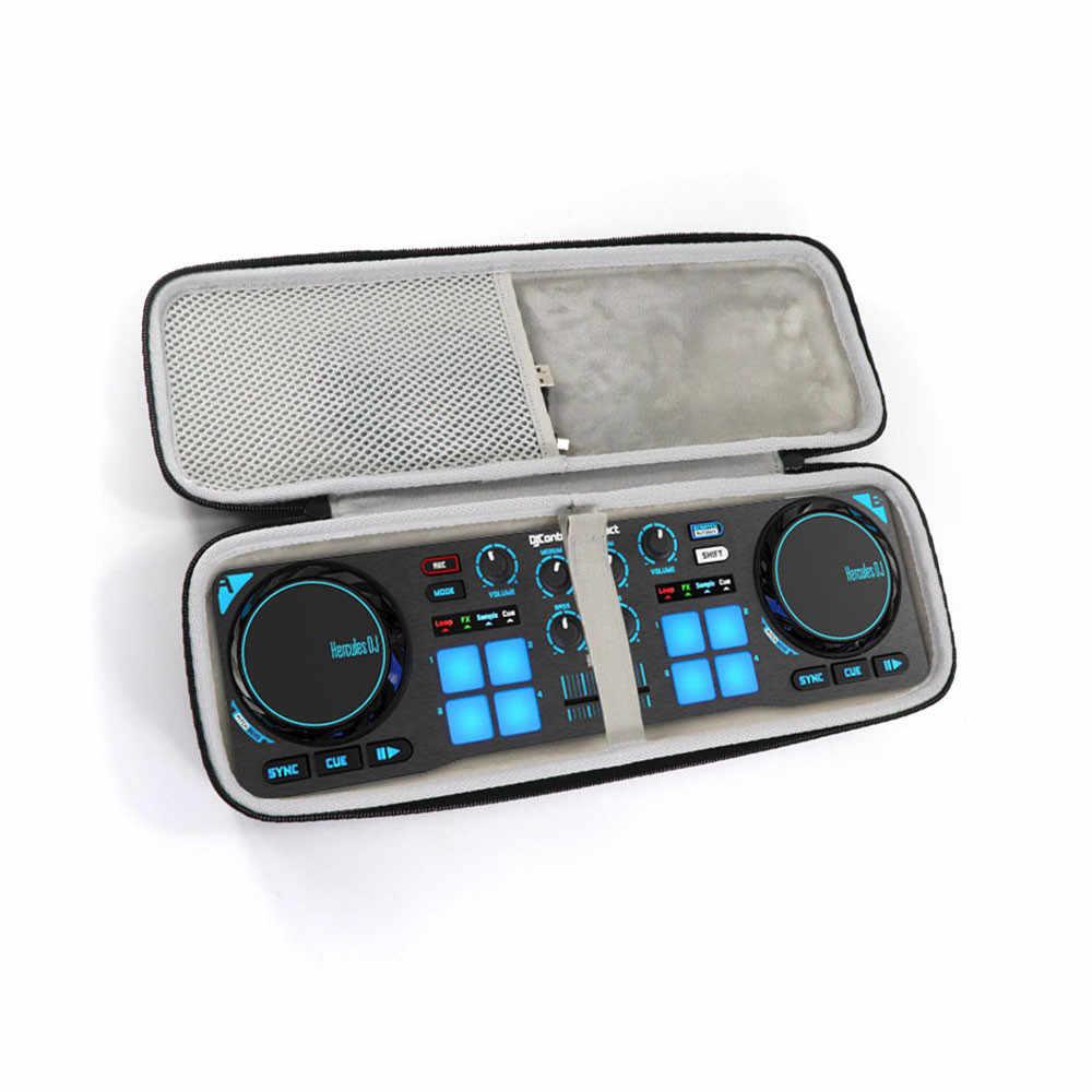 2019 новейший Жесткий EVA Дорожный Чехол для Pioneer Hercules DJ управление компактный портативный DJ управление Лер черный чехол сумка коробка