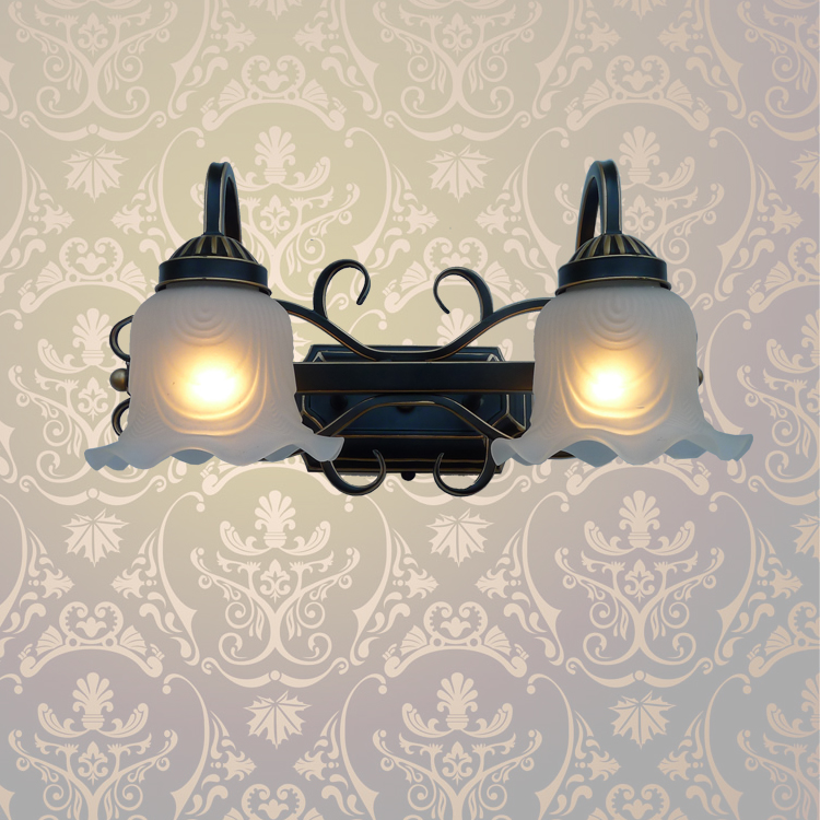 A1 European indoor iron wall lamp for living room lamps lens headlight corridor hotel restaurant wall lamps
