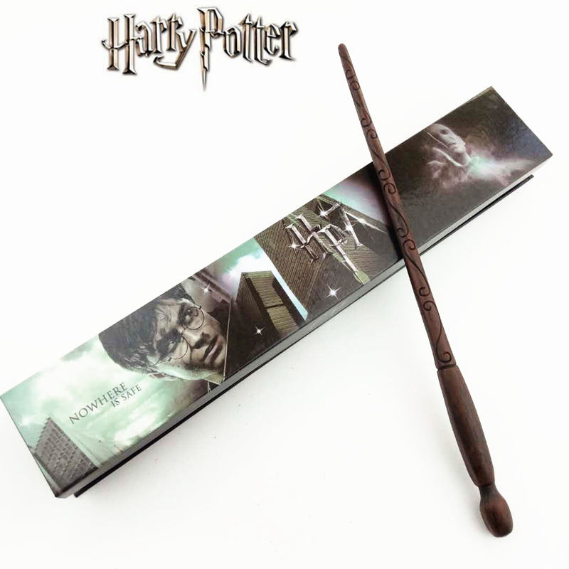 Cosplay Death Eaters Play Magical Magic Wand Gift In Box Metal Core Harry Potter Magical Wand
