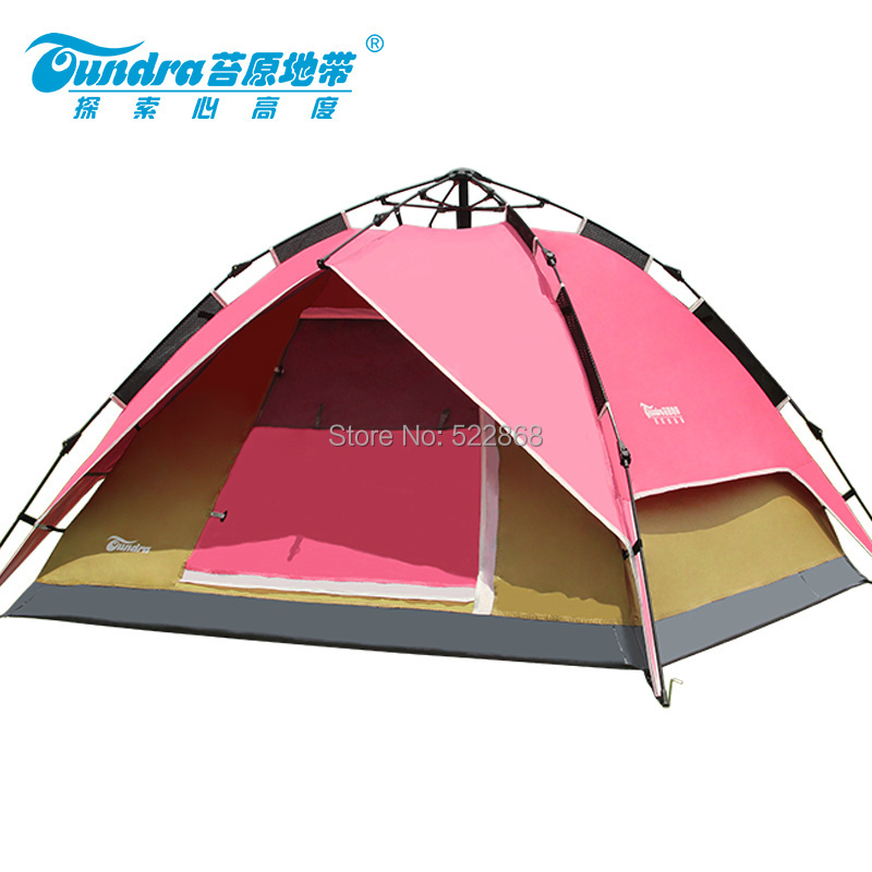 2014Tundra high quality  outdoor 3-4 people automatic  waterproof camping tent 2014shepherd 3 4 people double deck high quality outdoor camping tent