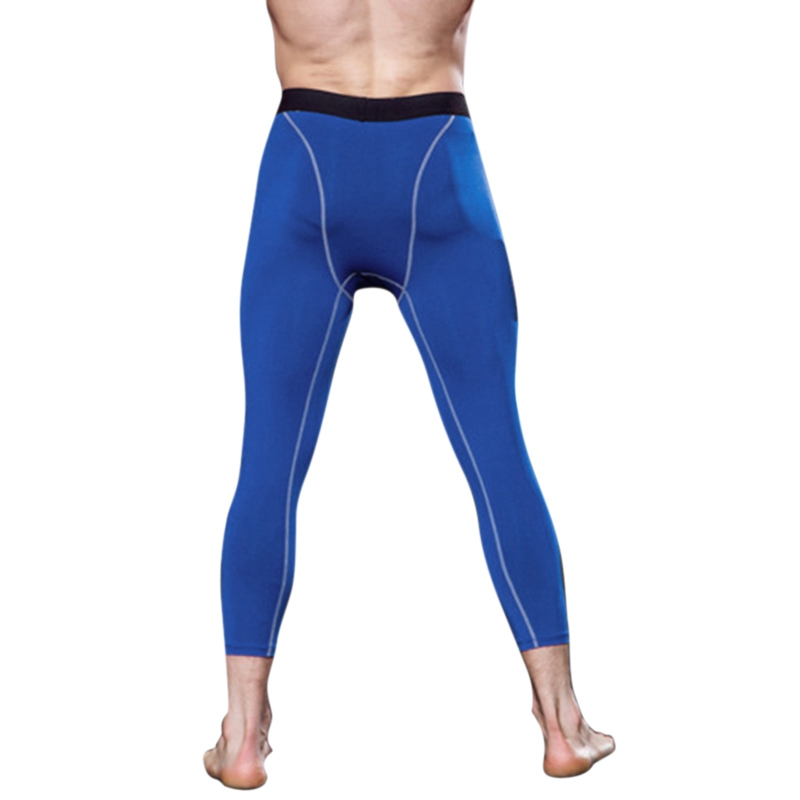 New Men Compression Pants Running Tights Sports Leggings Fitness Trousers Male High Elastic Sports Quick Dry Pants Gym Trousers