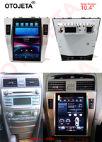 Otojeta vertical screen tesla head units quad core 32gb rom Android 7.1 Car Multimedia GPS Radio player for Toyota Camry 07 11