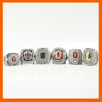 2002 2008 2009 2014 2014 2015 OHIO STATE BUCKEYES FOOTBALL BIG TEN CHAMPIONSHIP RING US