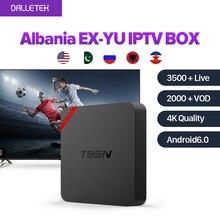 Dalletektv T95N Android 6.0 Smart IPTV Box French Arabic 1 Year SUBTV Subscription UK Italia Europe Channels Top