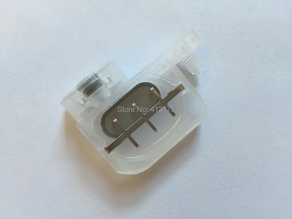 100 pcs transparent damper with square type for For Epson R1800 1900 1390 2400 1100 DX4