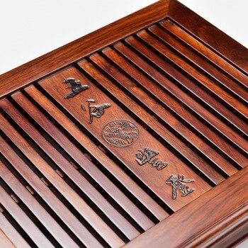 Chinesischer Couchtisch | Boutique Chinesische Kung Fu Tee Tray Home Büro Kaffee Tisch Dekoration Geschenk Holz Tee Tablett Tee Zubehör Freies Verschiffen