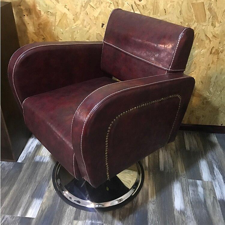 Купить с кэшбэком Hair cutting chair hair cutting chair hair cutting chair hair salon special cutting chair can lift hair cutting chair hair .