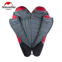 NatureHike 0 5 Degree Outdoor Ultralight Portable Sleep Bag Camping Folding Splicing Mum Sleep Adult Sleeping Bags Spring Winter