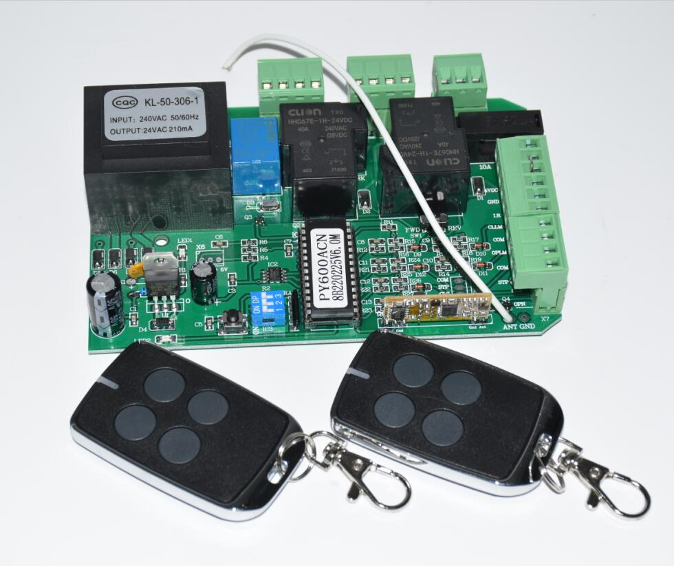 Magnetic Sliding Gate Opener AC Motor Control Unit PCB Controller Circuit Board Electronic Card (PY600ac SL600 SL1500 PY800)