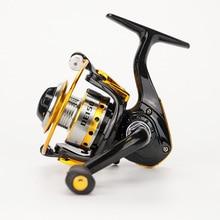 Новый 2016 de150 мини-небольшой Рыболовная катушка, 10BB, 5.2: 1, carretilha PESCA, Abu Garcia, нахлыстом, Ice Рыбалка, спиннингом, металл