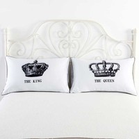 New Listing Body Pillowcases Mr and Mrs Romantic King Queen Couple Decorative Pillow Cover Valentine's Day Gift 2 piece/one pair