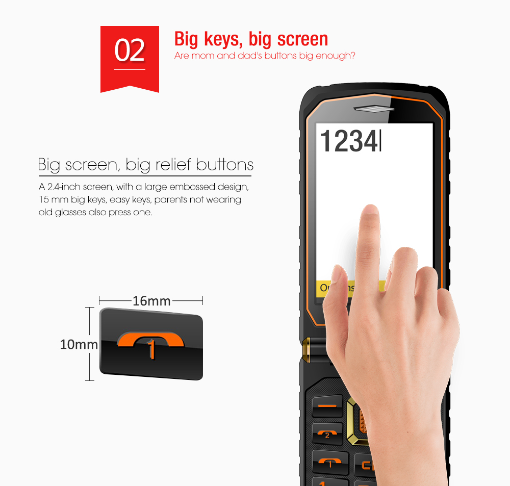 land rover x9 dual touch screen flip senior push button. Black Bedroom Furniture Sets. Home Design Ideas