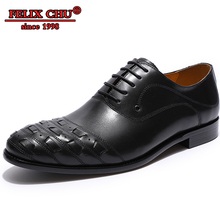 FELIX CHU BRAND DESIGNER MEN DRESS SHOES GENUINE COW LEATHER FORMAL OXFORD SHOES MEN POINTED TOE LACE UP WEDDING PARTY MALE SHOE цены онлайн