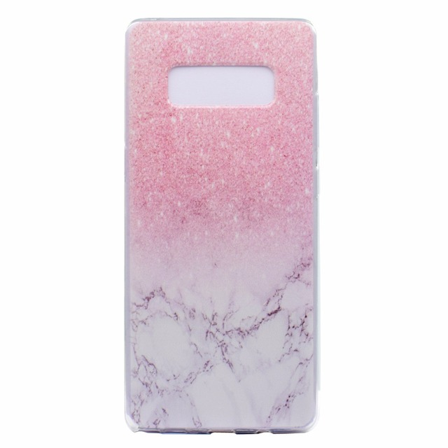 timeless design e4d19 62c98 US $1.54 10% OFF|Transparent TPU Cover For Samsung Galaxy Note 8 Case  Colour decoration Tower bike Butterfly Girl Design Mobile Phone Cases-in  Fitted ...