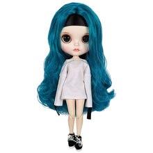 где купить New Listing Mini 30cm Fashion 1/6 Blyth Doll With Long Curly Hair And Fashion Clothes Hot Children Christmas/Birthday Gift по лучшей цене