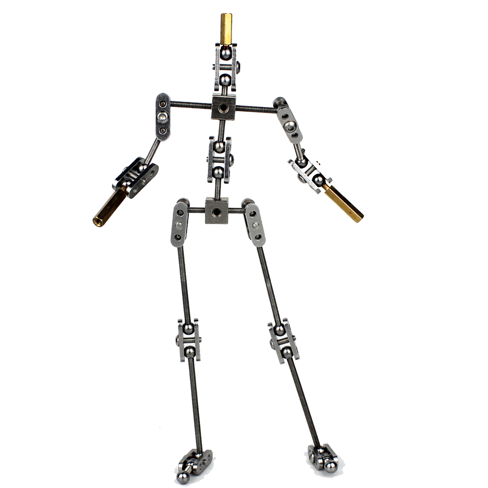 DIY not Ready made animation studio armature kit for stop motion puppet with different heights of