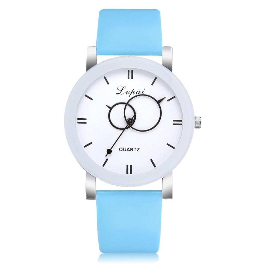 Fashion Women Watch Ladies Wristwatch Luxury High quality Quartz Leather Wrist Watch relojes mujer 2018 montre femme Gift #D 3