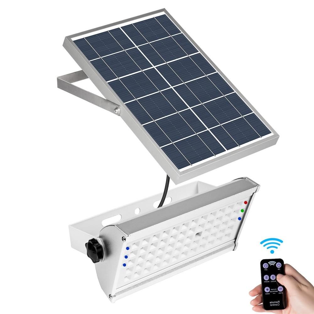15W Led  PIR Motion Sensor Solar Street Light Outdoor Deck 1500Lumen 49 LEDS
