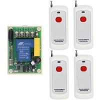 500m Range AC220V 30A 1CH 1 CH Wireless Remote Control Switch Relay Output Radio RF Transmitter