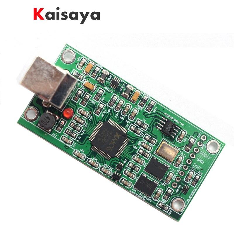 XMOS XU208 USB 384 K 32B module de cristal SITIME I2S SPDIF support de sortie DSD pour es9018 ES9028 ES9038PRO DAC amplificateur hifi A6-012