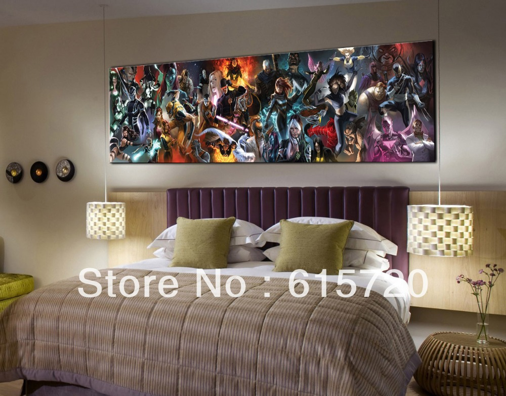 DC Comics Superman Avengers X Man Fine Art Prints Giclee