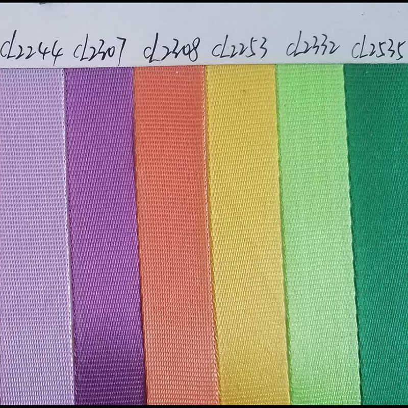 Плоский Гладкий узор Ткачество 10 мм нейлоновый тканый ремешок для сумки ремешок Горячая продажа 1 см широкий розовый/красный/слива/фиолетовый/оранжевый/желтый цвет