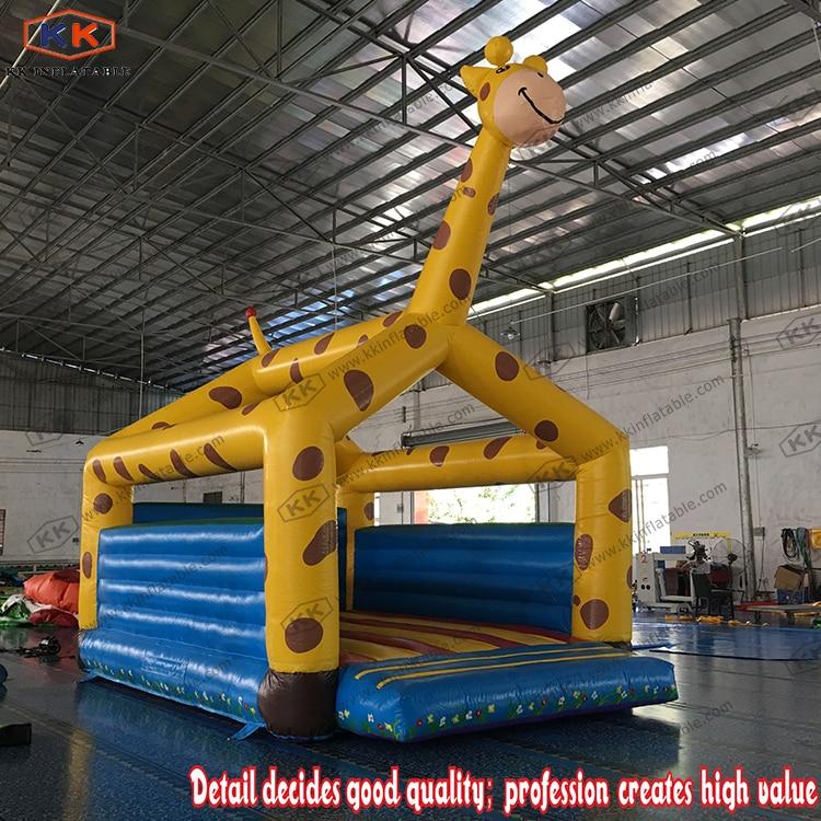 Giraffe Inflatables PVC Inflatable Farm Bouncer