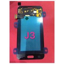 100% тестирование Super AMOLED для Samsung J3 2016 J320 J320F J320H J320M J320FN ЖК-дисплей Дисплей с Сенсорный экран планшета Ассамблеи