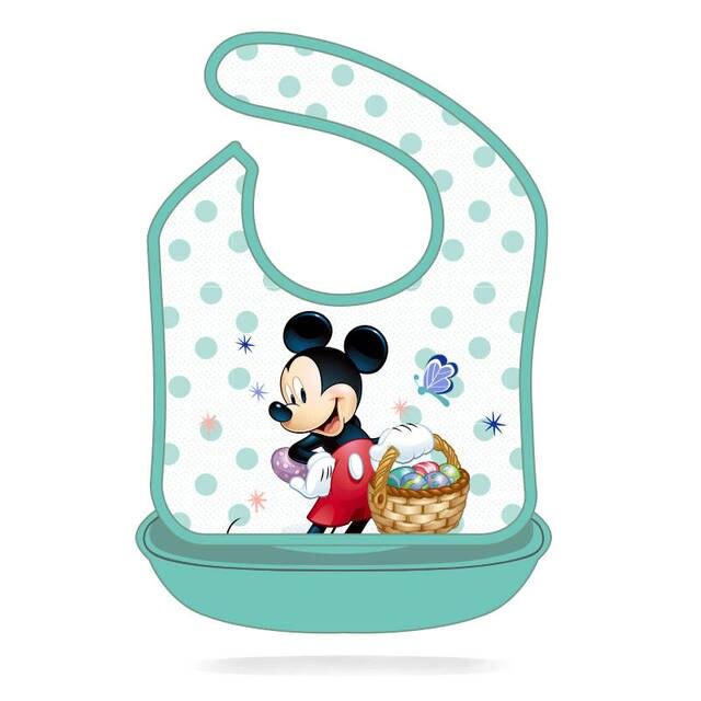 Baberos de bebé de Disney Mickey Burp Saliva toalla Minnie dibujos animados niños ropa de algodón niño y niña Babador Accesorios