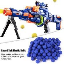 100 шт патронов мягкие упругие шарики для Rival Zeus Apollo Toy совместимый пистолет пуля Синий Спорт на открытом воздухе тренировочные спортивные мячи